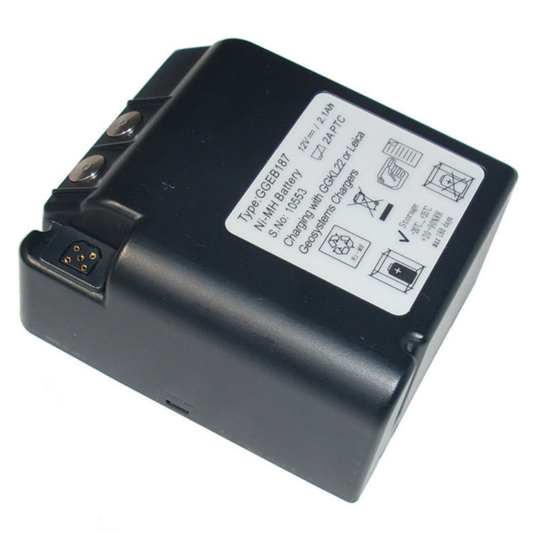 12V Leica Geb187 Rechargeable Battery Pack ,  Li Mh Battery for Tps 2000 / 1000